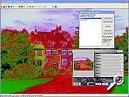 IrfanView - Filter-Effekt [Screenshot: MediaNord]