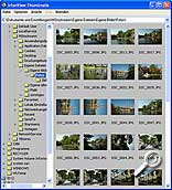 IrfanView - Thumbnail-Ansicht [Screenshot: MediaNord]