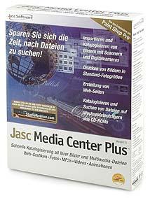 Jasc Media Center Plus