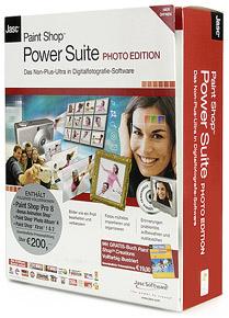 Jasc Paint Shop Power Suite
