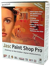 Jasc Paint Shop Pro 6 [Foto: MediaNord]