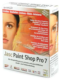 Jasc Paint Shop Pro 7 [Packshot: MediaNord]