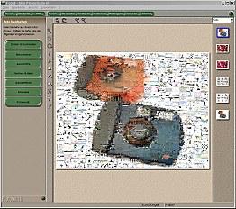 MGI PhotoSuite III Arbeitsoberfläche [Foto: MediaNord]
