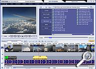 Magix Fotos auf CD & DVD 3.5 - Timeline [Screenshot: MediaNord]