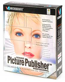 Micrografx Picture Publisher 10 [Packshot: MediaNord]