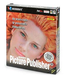 Micrografx Picture Publisher 9.0 [Packshot: MediaNord]