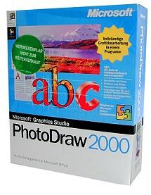 Microsoft PhotoDraw 2000 Packshot [Foto: MediaNord]