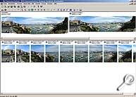 Panorama Factory - Arbeitsoberfläche mit fertigem Panorama [Screenshot: MediaNord]