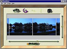 Programmfenster nachdem die Bilder importiert wurden
