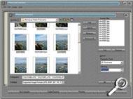Photovista 3.0 - Bilder laden [Screenshot: MediaNord]