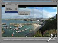 Photovista 3.0 - Stitch Optionen [Screenshot: MediaNord]