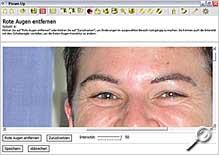 Pixum-Up - Rote Augen entfernen [Foto: Pixum]
