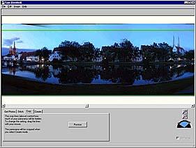 Ergebnisfenster von Spin Panorama