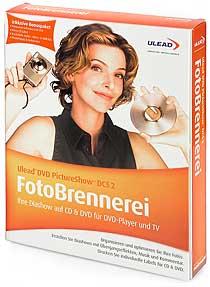 Ulead FotoBrennerei DVD PictureShow DCS 2 [Packshot: MediaNord]