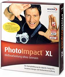Ulead Photo Impact XL [Packshot: MediaNord]
