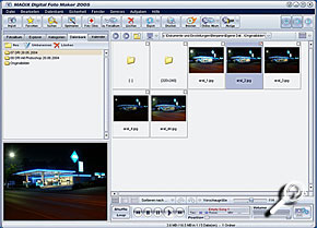 Magix Digital Photo Maker 2005 [Screenshot: MediaNord]