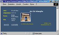 Bilderdatenbank - fertige HTML-Datei [Screenshot: Photoworld]