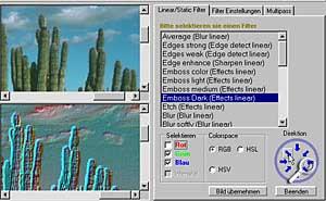 BitmapFix Emboss [Scrteenshot: Photoworld]