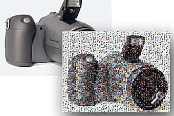 Centarsia - Original und Mosaik [Screenshot: Photoworld]