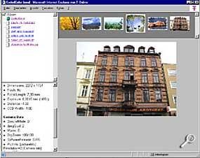 CodedColor - Ansicht einer generierten HTML-Seite [Screenshot: Photoworld]