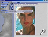 Benutzeroberfläche Dreamy Photo [Screenshot: Photoworld]