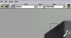 Focus Magic - Anzeige des voraussichlichen Ergebnisses [Screenshot: Photoworld]