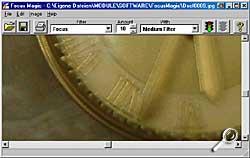 Focus Magic - Arbeitsoberfläche [Screenshot: Photoworld]