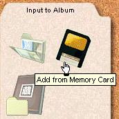 Gazo Digibook - Speicherkarten werden selbstständig aufgespürt [Screenshot: Photoworld]
