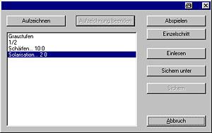 Hardcopy - Makros aufzeichnen [Sreenshot: Photoworld]