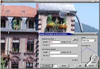 Foto mit Schlieren - Ergebnis mit Motion Blur [Screenshot: Photoworld]