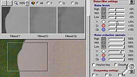 Neat Image - filtern [Screenshot: Photoworld]