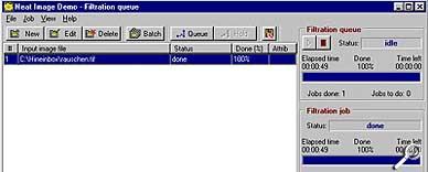 Neat Image -Stapelverarbeitung [Screenshot: Photoworld]