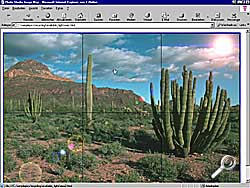 Photo Studio - Imagemap [Screenshot: Photoworld]