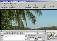Powerviewer - Copyright einfügen [Screenshoto: Photoworld]