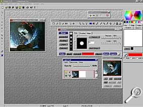 Satori PhotoXL - Arbeitsoberfläche [Screenshot: Photoworld]