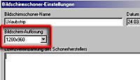 XDreamity - Bildschirmauflösung [Screenshot: Photoworld]