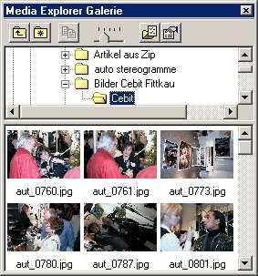 Zoner Draw 3 - Media Explorer Gallery [Screenshot: Photoworld]