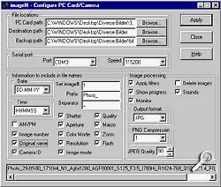 imageN - Transferfunktion [Screenshot: Photoworld]