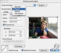 PhotoLine 32- Ausdruck [Screenshot: G. Hofmannl]