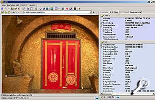 Exifer-Arbeitsfläche [Screenshot: PhotoWorld]