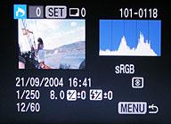 Canon EOS 20D- Menü [Foto: MediaNord]