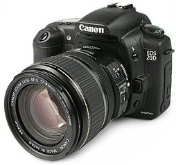 Canon EOS 20D [Foto: MediaNord]