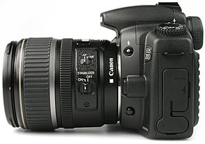 Canon EOS 20D- linke Seite [Foto: MediaNord]