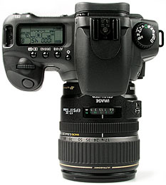 Canon EOS 20D- oben [Foto: MediaNord]