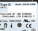 Microdrive-Speicherkarte - Detail DSCM [Foto: MediaNord]