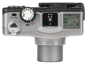 Canon PowerShot G1 - Oberseite [Foto: MediaNord]