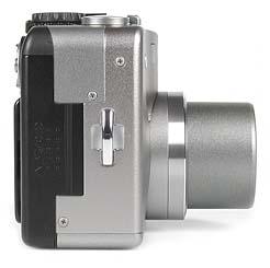 Canon PowerShot G1 - rechte Kameraseite [Foto: MediaNord]