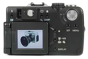 Canon PowerShot G1 Rückseite [Foto: MediaNord]