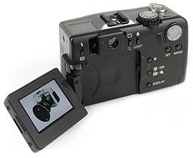 Canon PowerShot G1 - Rückseite [Foto: MediaNord]