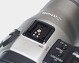 Canon PowerShot Pro70 Blitzschuh [Foto: MediaNord]